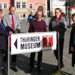 17. April 2014 Besuch im Thüringer Museum